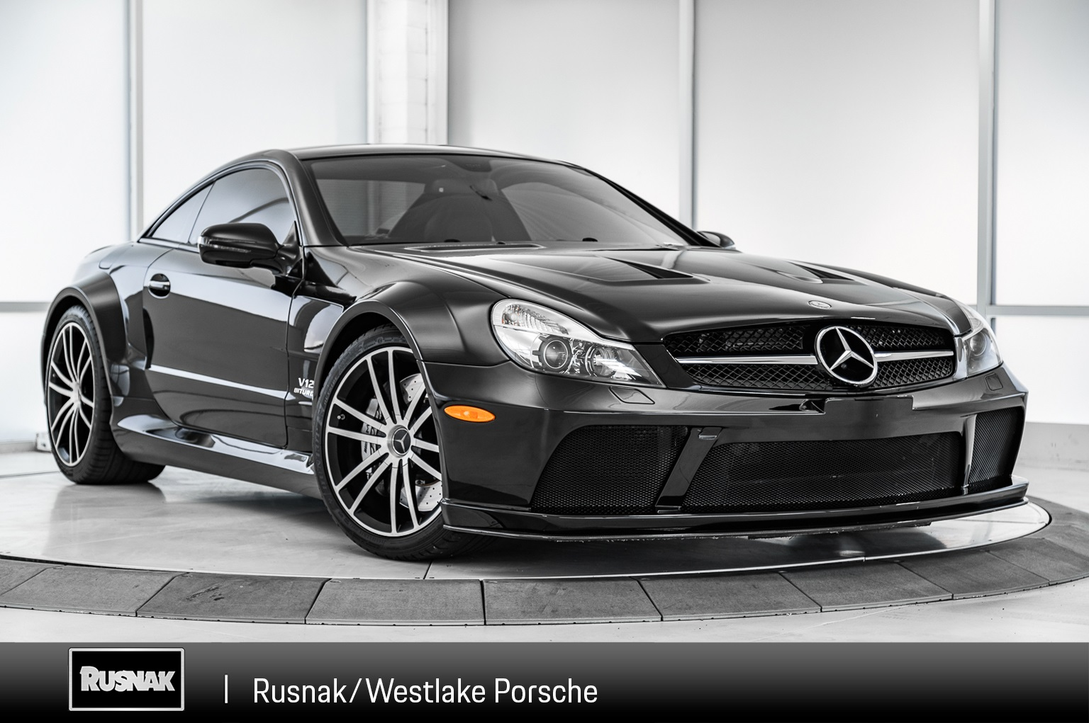 Pre-Owned 2009 Mercedes-Benz SL-Class SL 65 AMG® BLACK SERIES