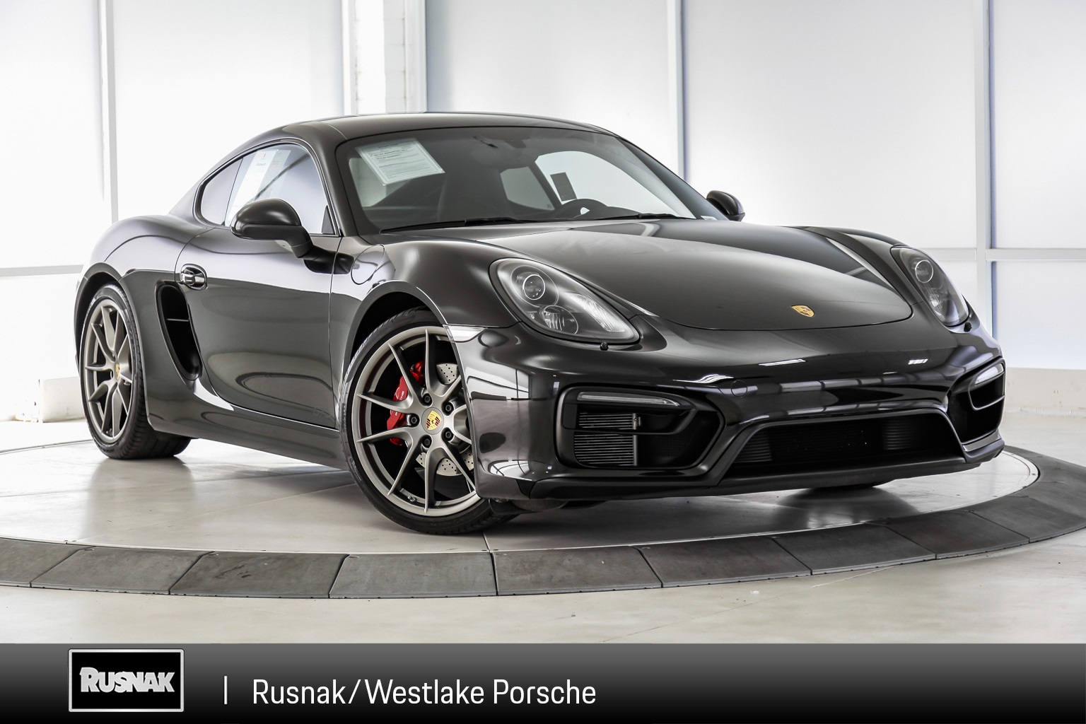 Certified Pre-Owned 2016 Porsche Cayman GTS