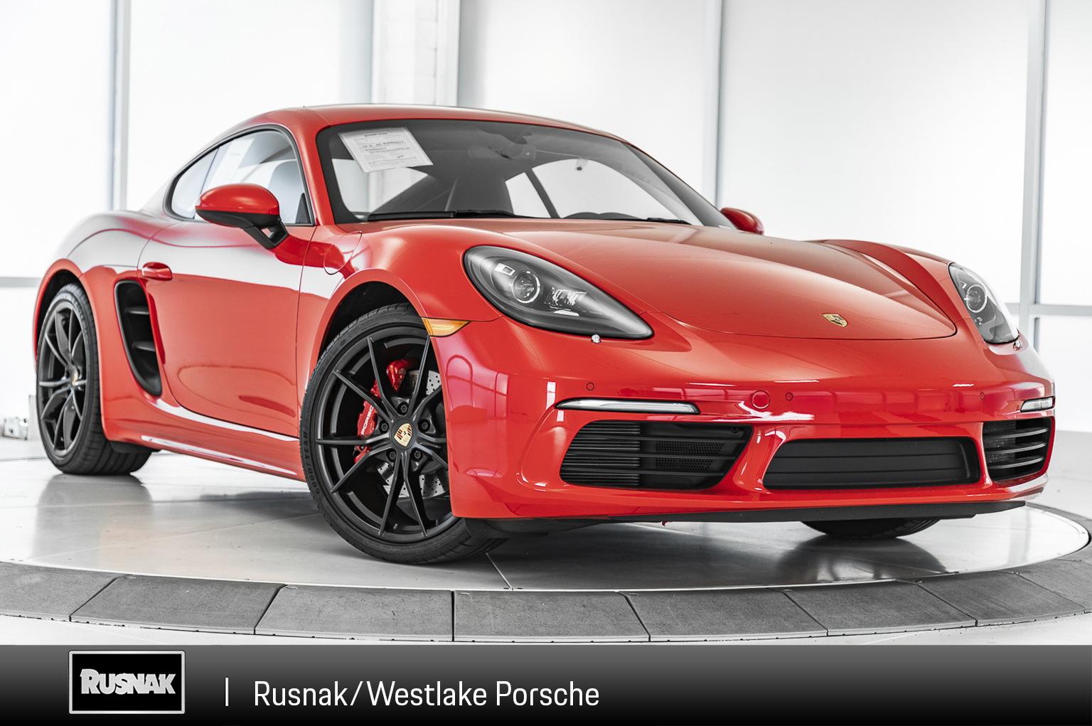 Pre-Owned 2018 Porsche 718 Cayman S