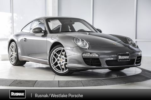Certified Pre-Owned 2011 Porsche 911 Carrera Coupe