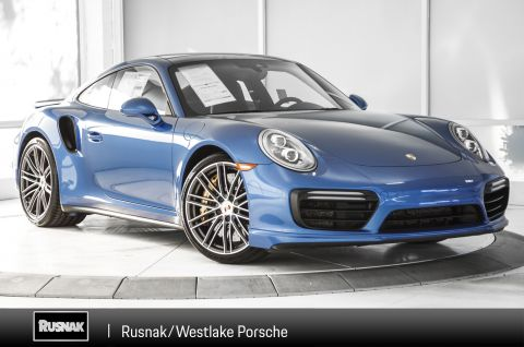 Certified Pre-Owned 2017 Porsche 911 TURBS