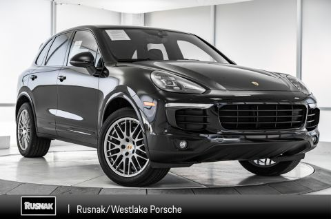 Pre-Owned 2018 Porsche Cayenne PLATED