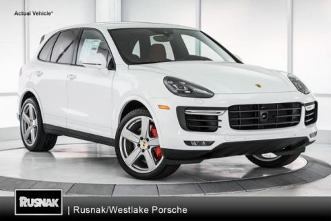 New 2017 Porsche Cayenne Turbo